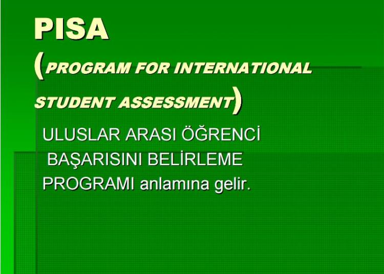 Program For International Student Assasment